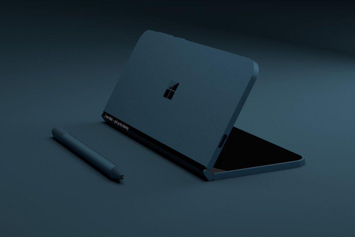 Microsoft Surface Andromeda柔性折叠双屏曝光!将进军手机市场的战局?