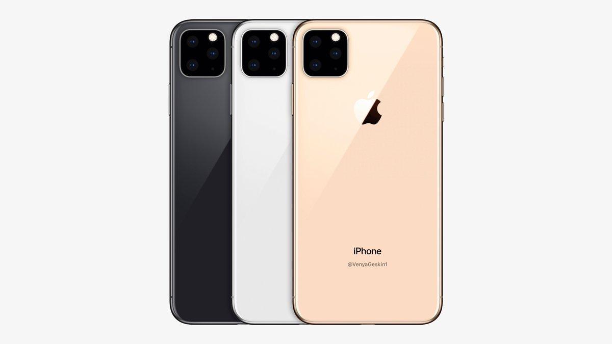 iPhone XI系列将有3款?配备水下模式,显示屏在水里也能操作?
