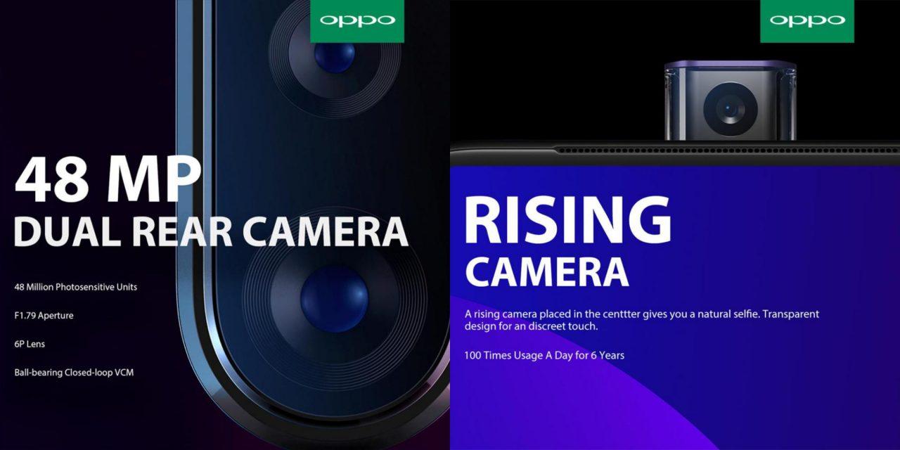OPPO将于3月19日在大马发布!48MP+升降式摄像头!