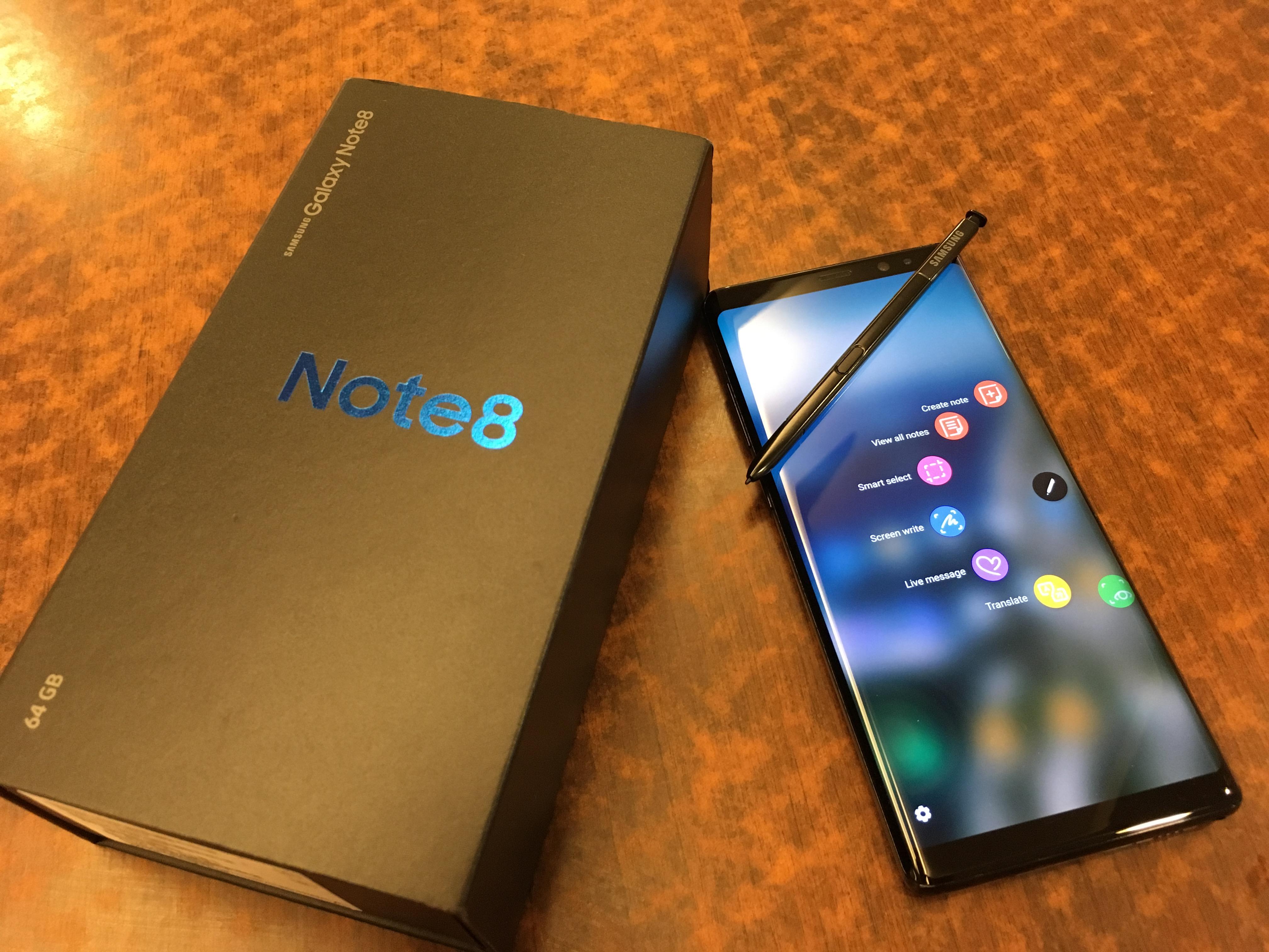 Samsung Galaxy Note 8测评:可以媲美工作用电脑的一款手机!