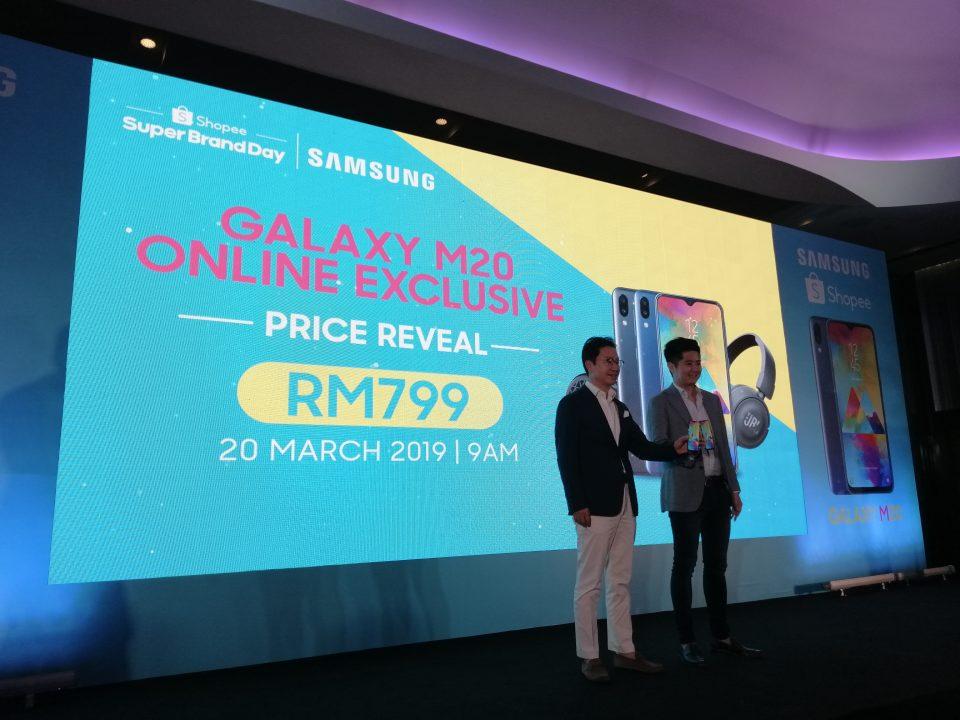 Samsung Galaxy M20正式在大马推出!Inifinity V显示屏 + 5000mAh!售价RM799!