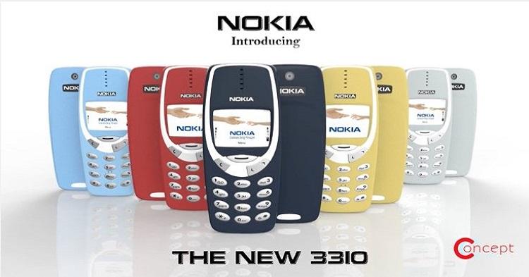 Nokia 3310重出江湖!3310以时尚+Young的方式回归,最快4月登陆大马!