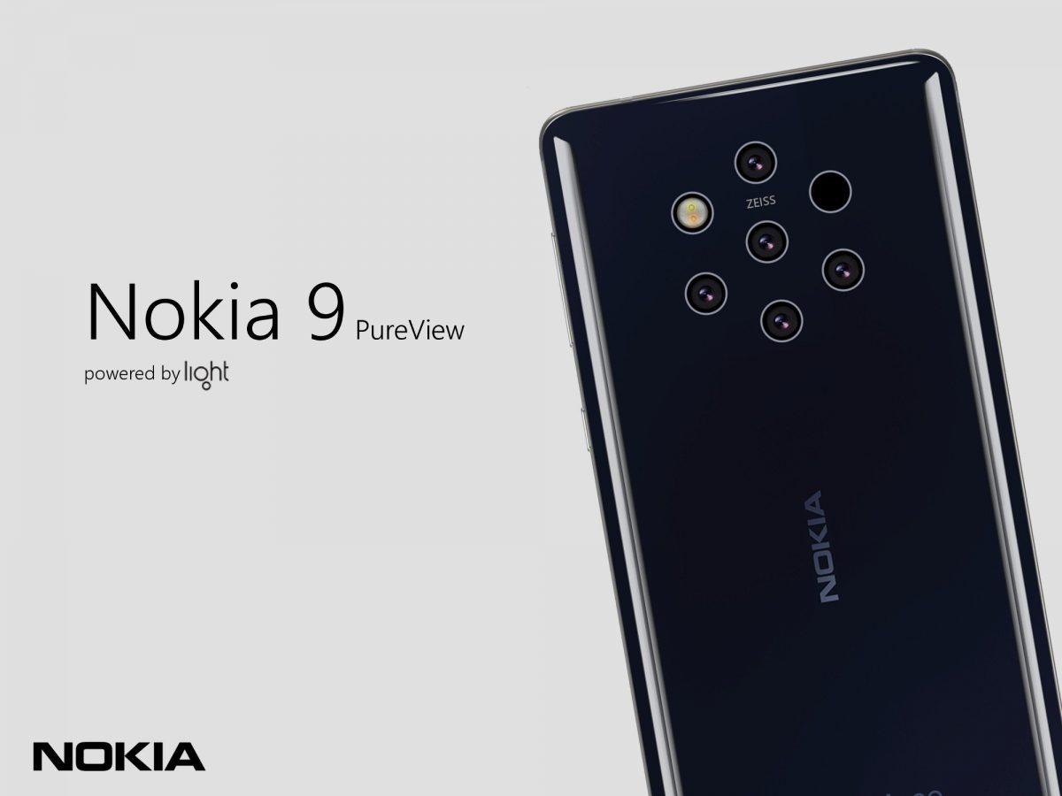 5颗摄像头Nokia旗舰手机,取名为Nokia 9 PureView?