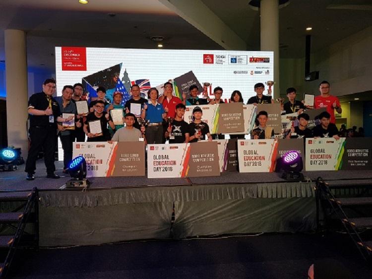 THUNDEROBOT赞助SEGi GLOBAL EDUCATION DAY 2018!鼓励和支持青少年往电子竞技行业发展!