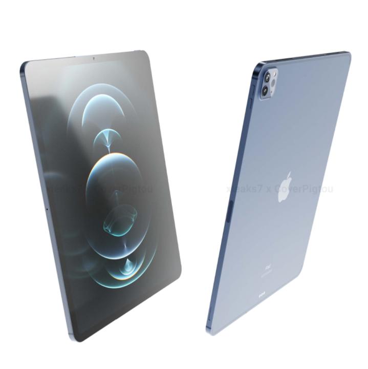 iPad Pro 2021款全新渲染图曝光:A14X Bionic+mini LED+5G,有望3月发布 ...