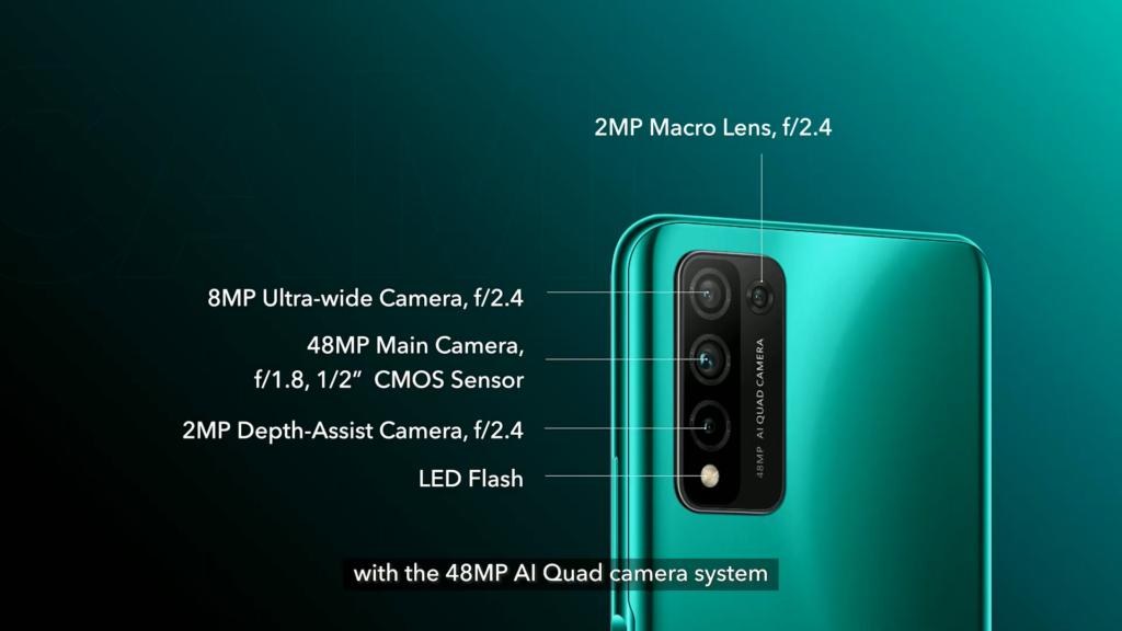 HONOR 10X Lite发布!5000mAh大电池+48MP后置四摄!售约RM1113!