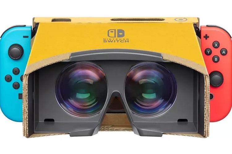 Nintendo宣布推出Switch的Labo VR套装!最低只需RM1XX!