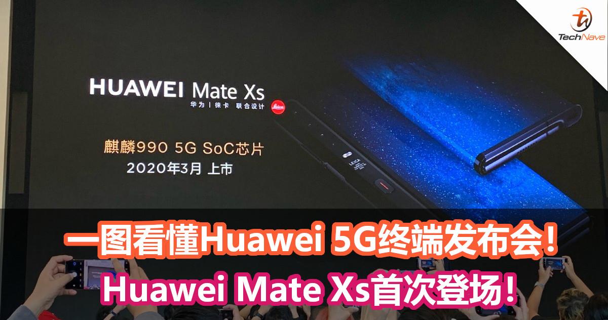 一图看懂Huawei 5G终端发布会!VR Glass、5G随行WiFi等等产品!Huawei Mate Xs首次登场!