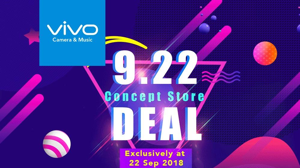 vivo一日限定优惠!9月22日购买vivo V11送3大赠品!