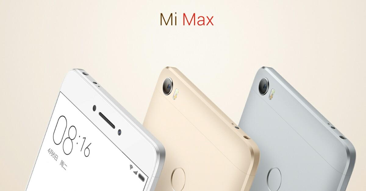 Xiaomi Mi Max 2背部设计曝光!传言售价RM937起!