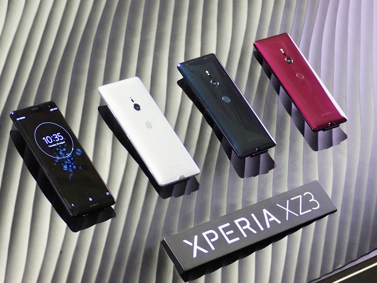 SONY旗舰手机Xperia XZ3荷兰开启预购!OLED屏幕+ Snapdragon 845处理器!