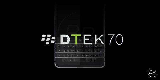 Dtek 70 BlackBerry