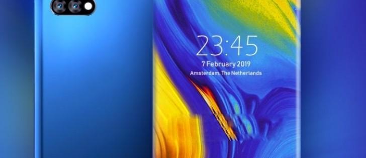 Xiaomi申请了边框四曲面屏幕设计专利!