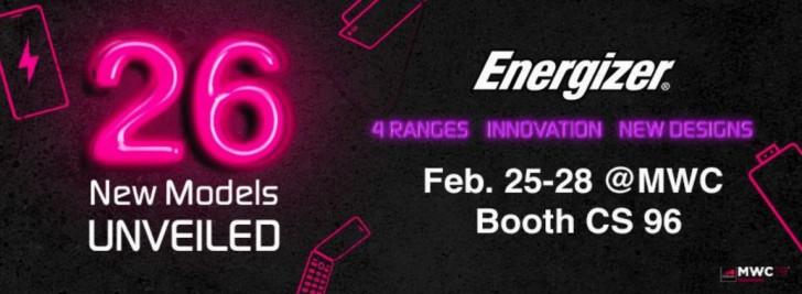 Energizer将在MWC 2019发布18000mAh电池手机!26款新机隆重登场!