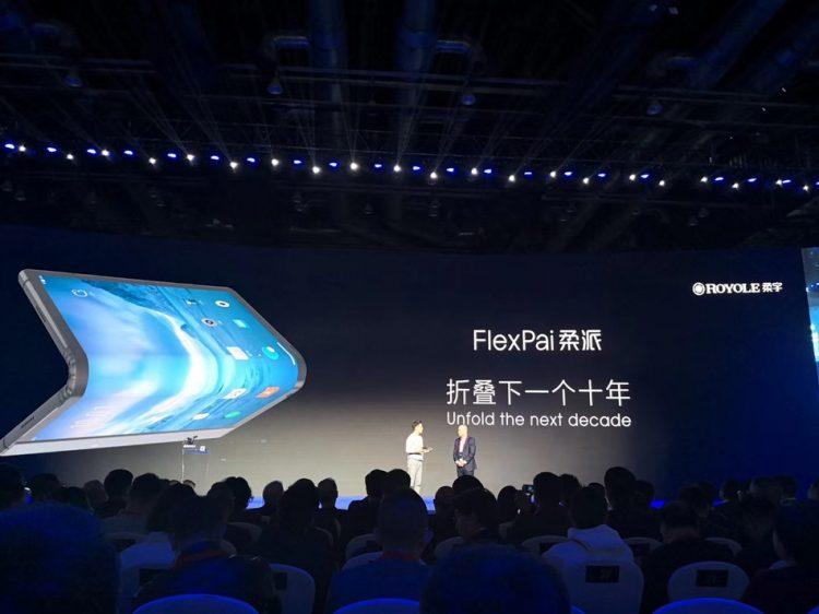 中国手机品牌柔宇发布全球首款可折叠手机!8GB RAM+512GB ROM!售价从RM5425起!