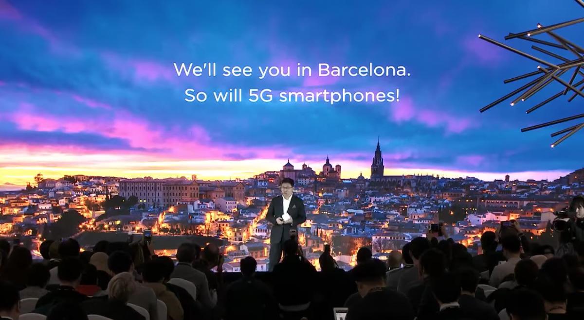 Huawei将在MWC大会上发布首款5G手机!Kirin980+Balong 5000!