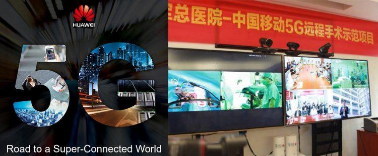 隔空做手术?Huawei 5G创下首例3000公里远程人体手术!