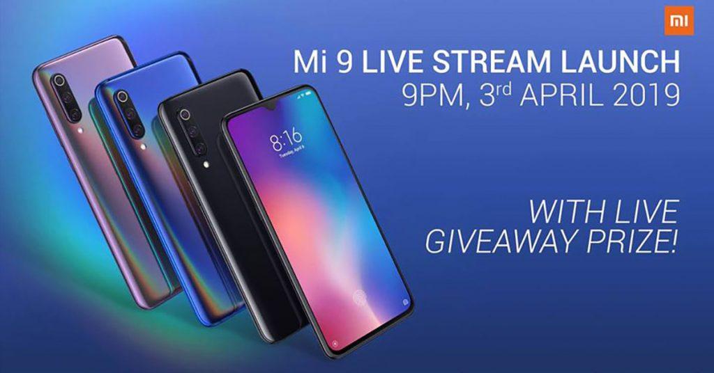 看Xiaomi MI 9直播就有机会获得透明版Xiaomi MI 9!
