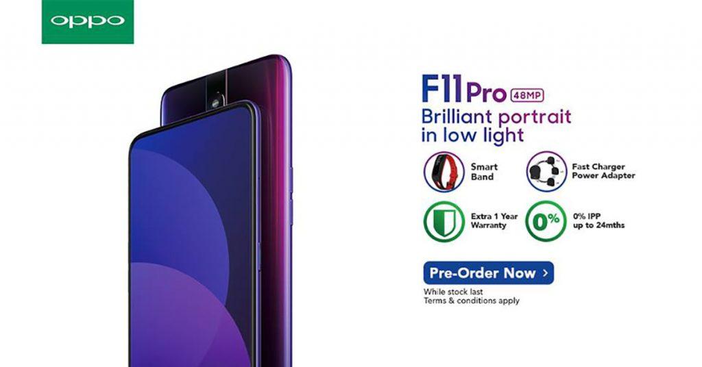 OPPO F11 Pro正式在Celcom以及Senheng开放预购!外加免费获得额外礼品!