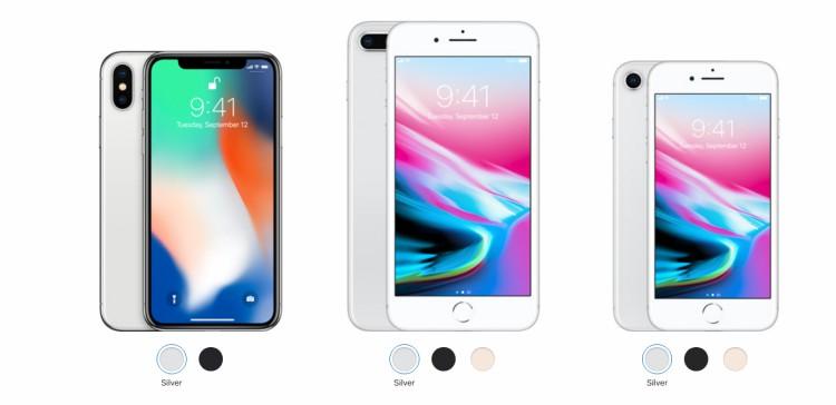 iPhone X普及率迅速超过iPhone 8系列