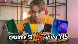 realme 5i vs vivo Y15!