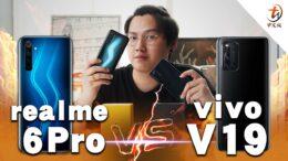【realme 6 Pro VS vivo V19 : 夜拍非常厉害的两部手机! 】