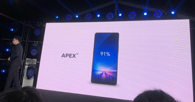 vivo APEX今年年中量产:将搭载Snapdragon 845处理器!最完美全面屏手机!