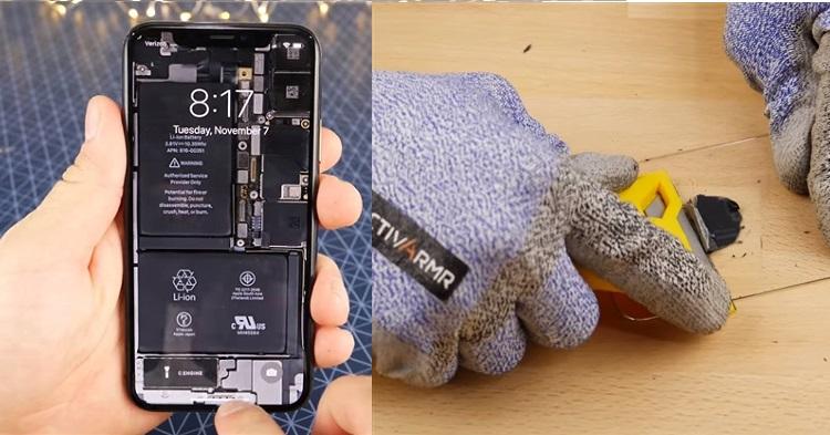 透明版的iPhone X亮屏太惊艳了!真的是很够力YENG咯!
