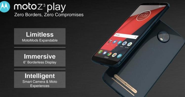 Moto Z3渲染图曝光:6英寸18:9显示屏,搭载Snapdragon 845处理器,支援5G网络!