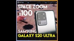 Samsung Galaxy S20 Ultra 100倍 Space Zoom!
