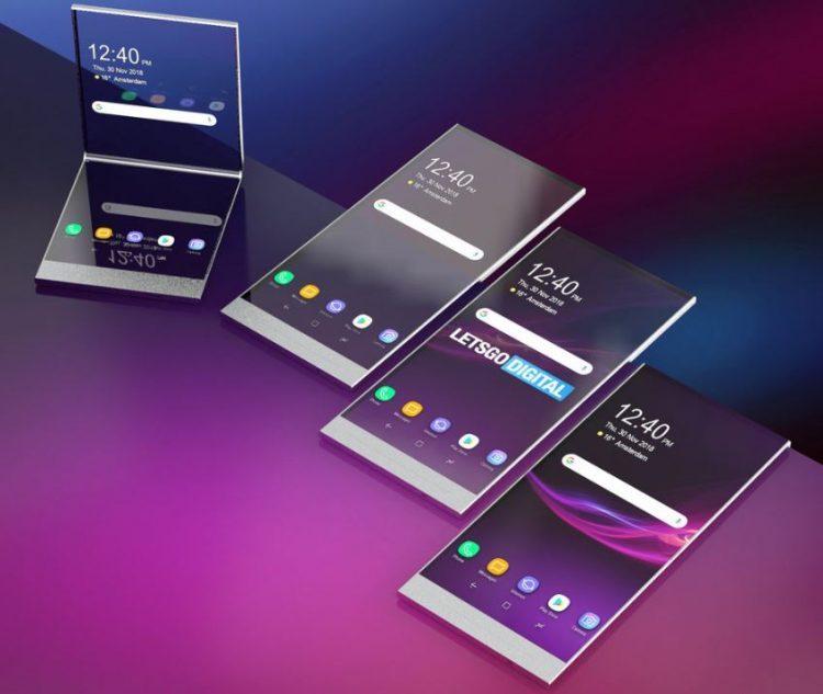 Sony的折叠式手机可能会采用透明屏幕!