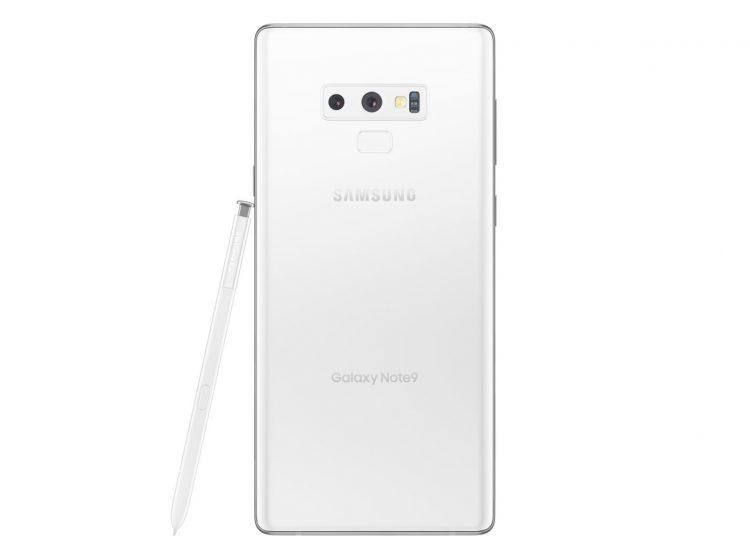 最纯粹的美!Samsung Galaxy Note 9纯白色版本现身!